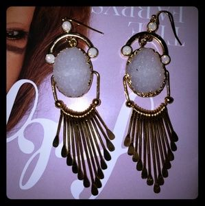 Jewelry - Crystal earrings. New.